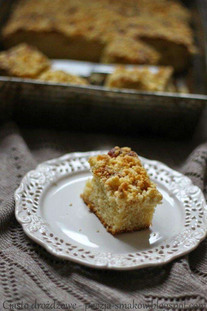 Ciasto drożdżowe, które samo się robi