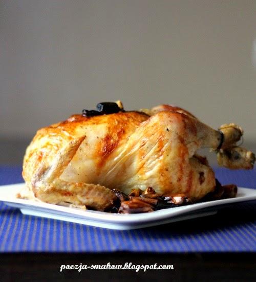 kurczak pieczony z 40 ząbkami czosnku