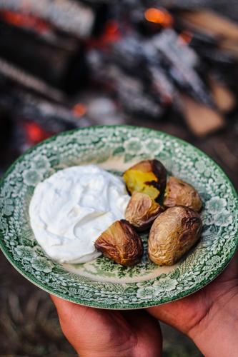 ziemniaki z ogniska