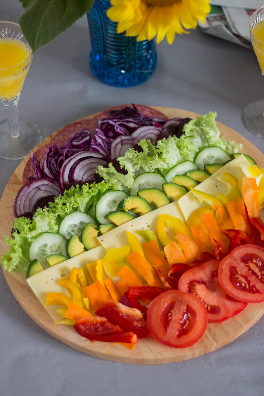 warzywa do panini