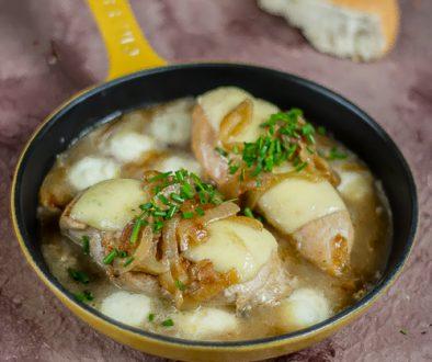francuski kurczak cebulowy