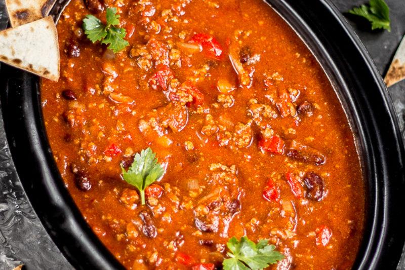 chili z wołowiną